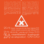 Discussion Polytexneio 20/6 19.00 | Mikrofoniki Thisseio 21/06 19.00 | Rassemblement Evelpidon 25/6 09.00