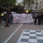 Photos du rassemblement à la place Amerikis à 7.3.15